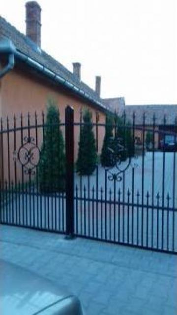 Gard fier forjat de la I.i. Petho Elemer
