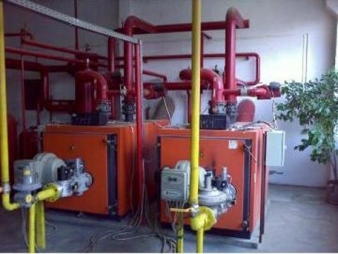 Servicii de intretinere si reparare centrale termice de la Mark Comtrans S.r.l.