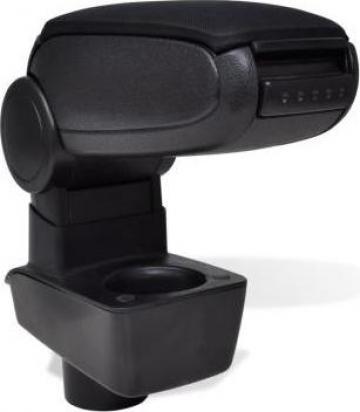 Cotiera masina negru pentru Ford Fiesta MK7 (2009) de la Vidaxl