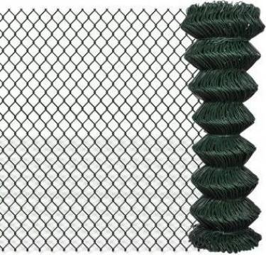 Gard lant 1,25 x 15 m, verde