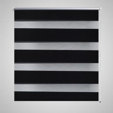 Stor Zebra, 120 x 230 cm, Negru