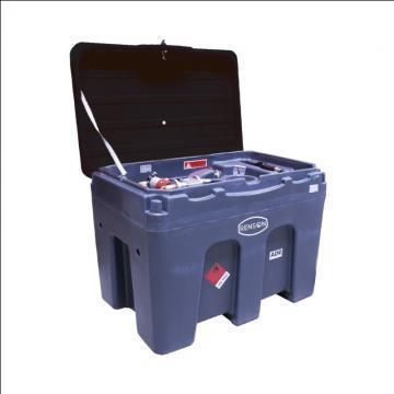 Bazin mobil 450 litri motorina cu pompa de alimentare 12V de la Edy Impex 2003