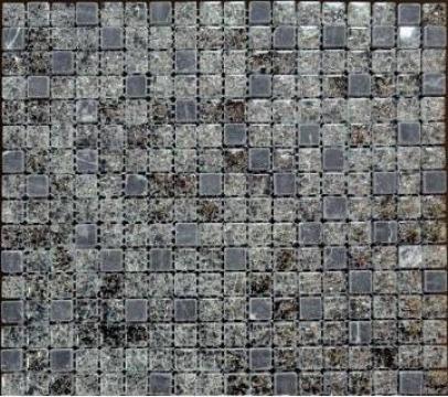 Mozaic din sticla si marmura MMX011