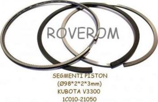 Segmenti piston Kubota V3300, Bobcat, 98mm