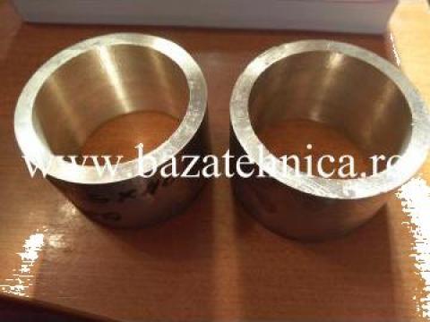 Bucse bronz fi 65 x fi 55 x40 mm de la Baza Tehnica Alfa Srl