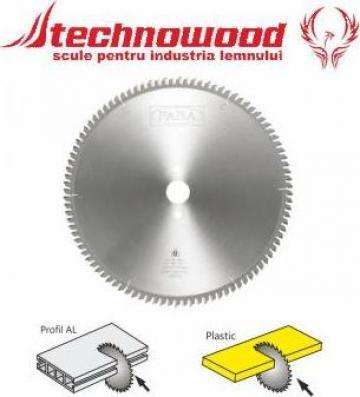Panza circulara taiat plastic/aluminiu de la Technowood Srl