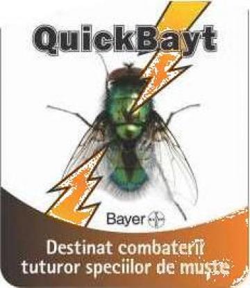 Insecticid granule pentru combaterea mustelor Quick Bait 30g de la Agan Trust Srl