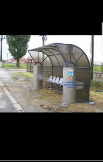 Statie autobuz de la Ygrocris Dorally Steel Srl