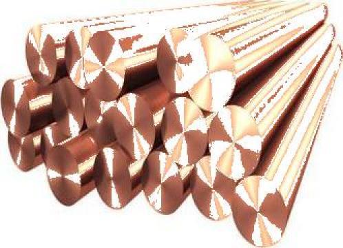 Bare hexagonale bronz laminat de la Electrofrane