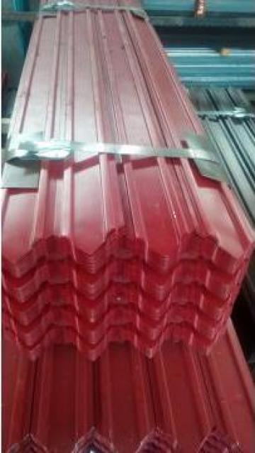 Sipca metalica pentru gard rosie