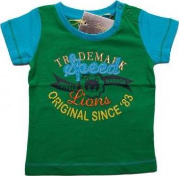 Tricou pentru baieti verde