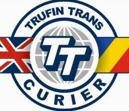Servicii curierat Romania - Nottingham si retur de la Trufin Trans Ltd