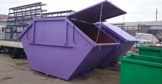 Container simetric cu capace Skip 5 mc de la Edmarom Prod 2007 Srl