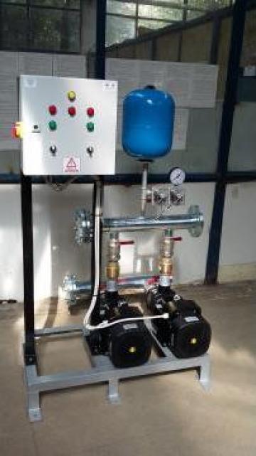 Grup de pompare hidranti, 2 x 15 mch, la 45 mCA de la Master Engineering Srl