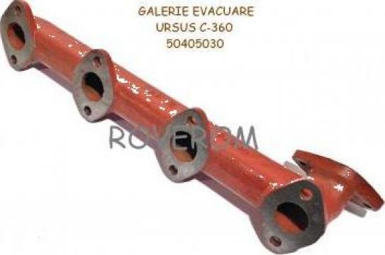 Galerie evacuare motor tractor Ursus C-360, Zetor 4511-6748