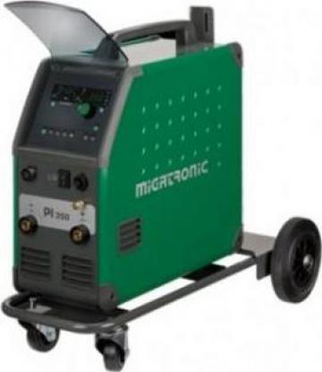 Aparat sudura Migatronic PI 350 DC H-HP cu accesorii de la Bendis Welding Equipment Srl