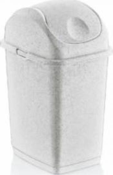 Cos de gunoi cu capac batant Icikala 5litri de la Basarom Com