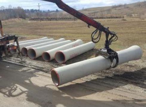 Tuburi beton precomprimat de la Electrofrane
