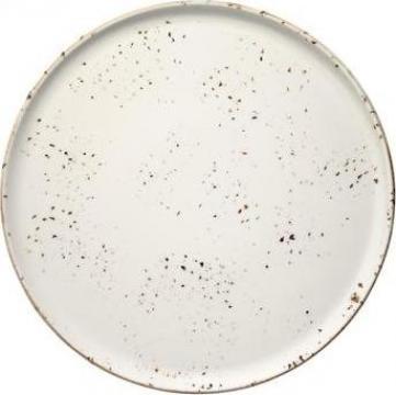 Platou pentru pizza din portelan Bonna - Grain 32cm de la Basarom Com