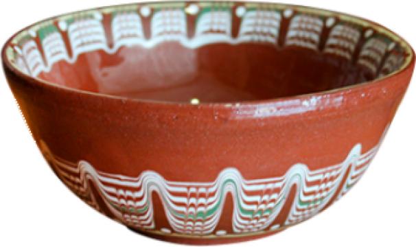 Cupa ceramica, lut mica 12cm de la Basarom Com