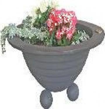 Jardiniera mica din fonta