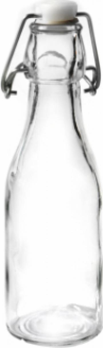 Sticla rotunda 245ml ulei, otet de la Basarom Com