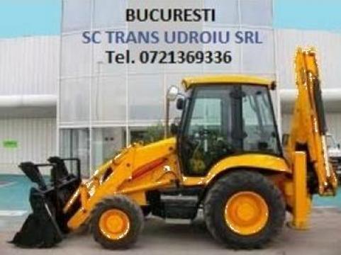 Inchiriere buldoexcavator - Bucuresti si Ilfov