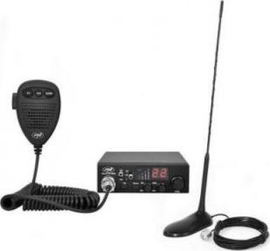 Statie radio CB PNI Escort HP 8000L ASQ + antena Extra45 de la Electro Supermax Srl