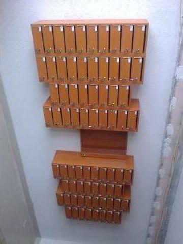 Cutii postale 76 apartamente de la Corban Mobila Srl
