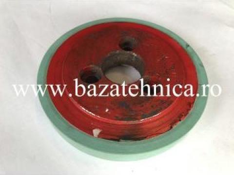 Cauciucare roata metalica D126x140x20 mm de la Baza Tehnica Alfa Srl