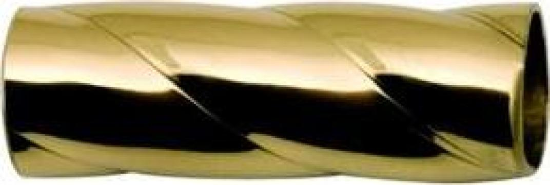 Teava alama rotunda rasucita (canale mari - franghie) de la MRG Stainless Group Srl