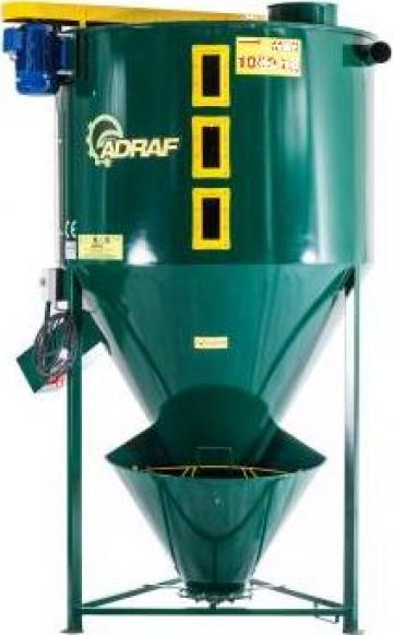 Amestecator mixer M01/2 1000kg de la Sc Pedrogroup Agro Srl