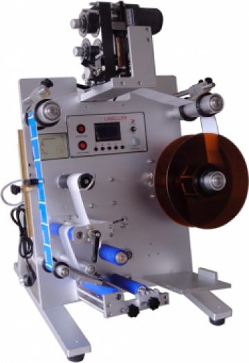 Masina etichetare recipiente cilindrice