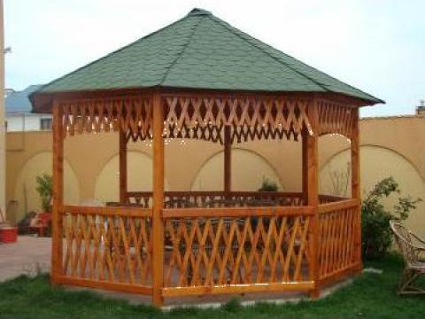 Foisoare de gradina din lemn Ilfov-Bucuresti de la Rollux Construct
