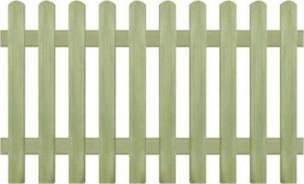 Gard din tarusi, lemn de pin tratat, 170x100 cm 6/9