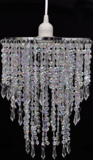 Lampa de tavan cu cristale 22,5 x 30,5 cm