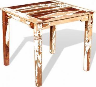Masa de bucatarie, lemn masiv sheesham, 82 x 80 76 cm