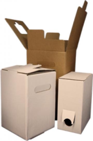 Cutii pentru sucuri (BIB) de la West Packaging Distribution Srl
