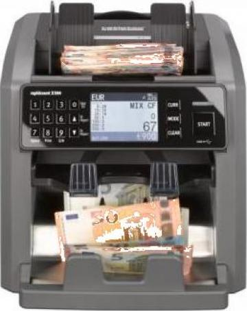 Masina de numarat bancnote Ratiotec Rapidcount X500