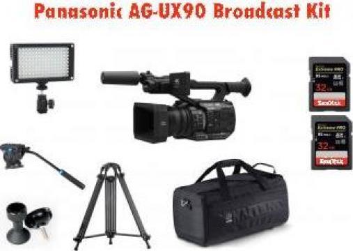 Camera video Panasonic AG-UX90 Broadcast Kit 2 de la West Buy SRL