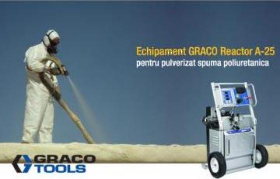 Utilaj spuma poliuretanica Reactor A-25 de la Iso Equipments Srl