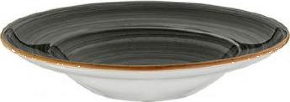Farfurie adanca Gourmet din portelan Bonna-Space 27cm de la Basarom Com