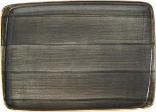Platou dreptunghiular din portelan Bonna-Space 23x16cm de la Basarom Com