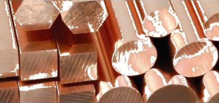 Bara bronz Bz12 patrata de la Electrofrane