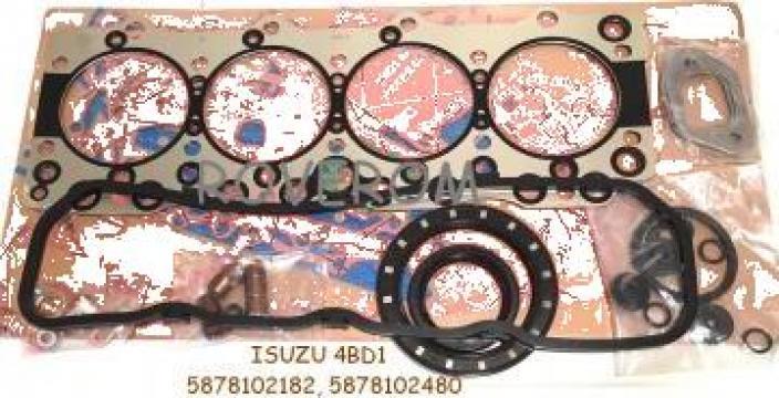 Garnituri motor Isuzu 4BD1, JCB, Kobelco, Hitachi