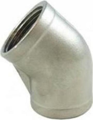 Coturi 45 grade FI-FI BSP din inox 304/316 de la Electrofrane