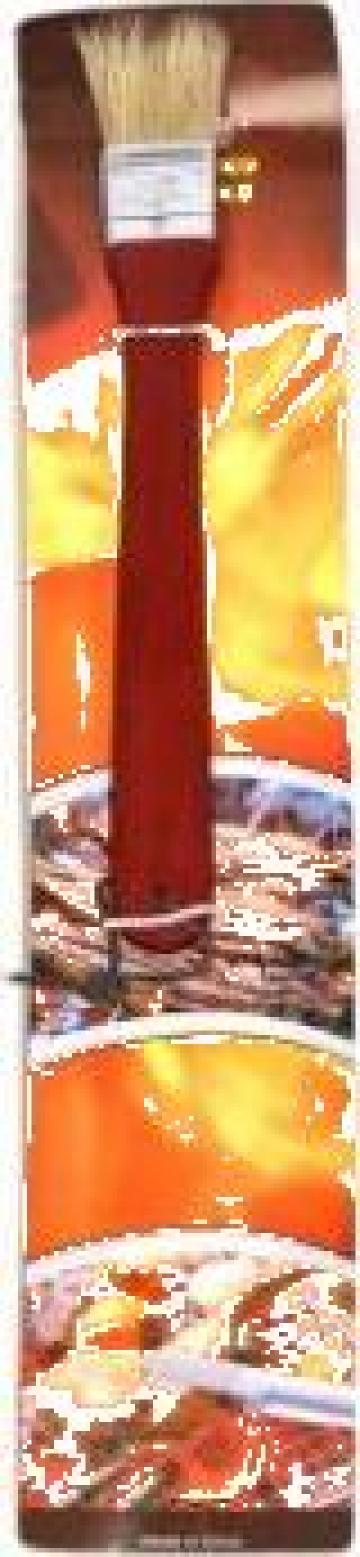Perie pentru carne gratar Raki maner lemn de la Basarom Com
