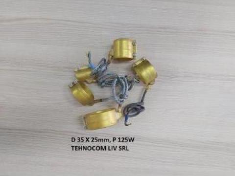 Rezistenta alama 35 mm, L 25 mm, P = 125 W
