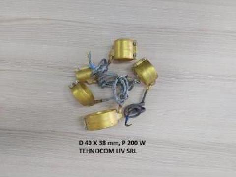 Rezistenta cu izolatie mica D 40 mm, L 38 mm, P = 200 W de la Tehnocom Liv Rezistente Electrice, Etansari Mecanice