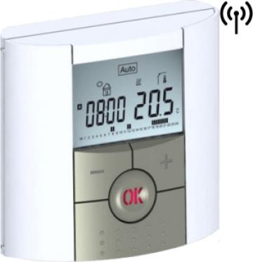 Termostat digital programabil de ambient, cu RF si RH de la Sistema Comfort And Energy Saving